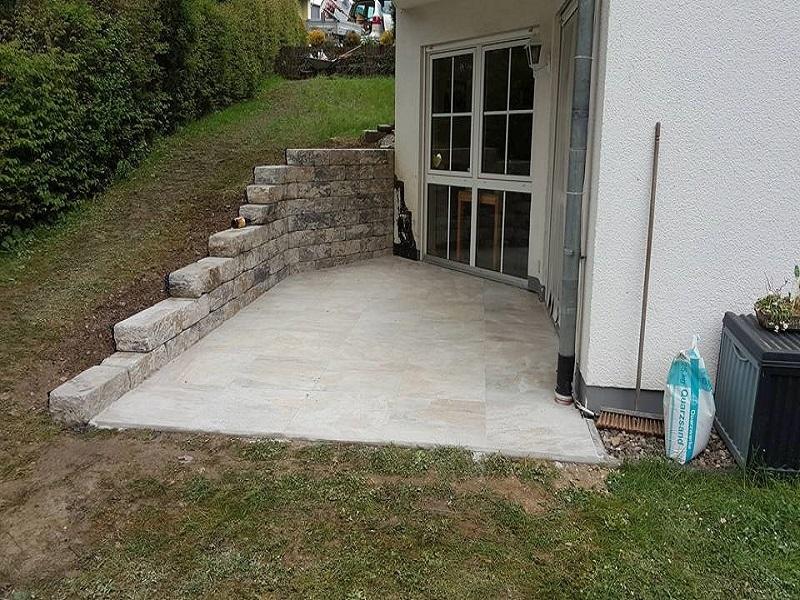Terrassen und Pflaster- Innenausbau Leu